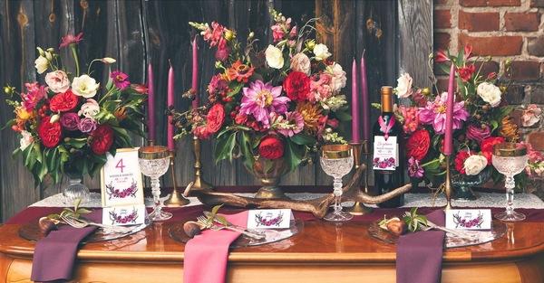dekoracje ślubne styl boho