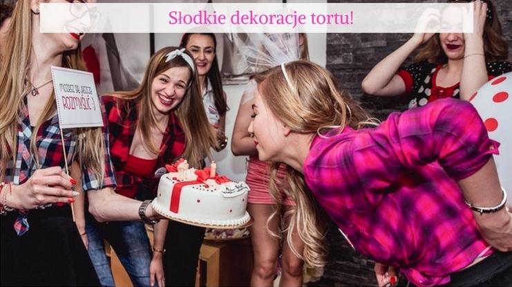 opłatki na tort panieński