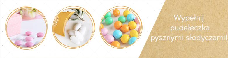 Migdały i cukierki na Chrzest