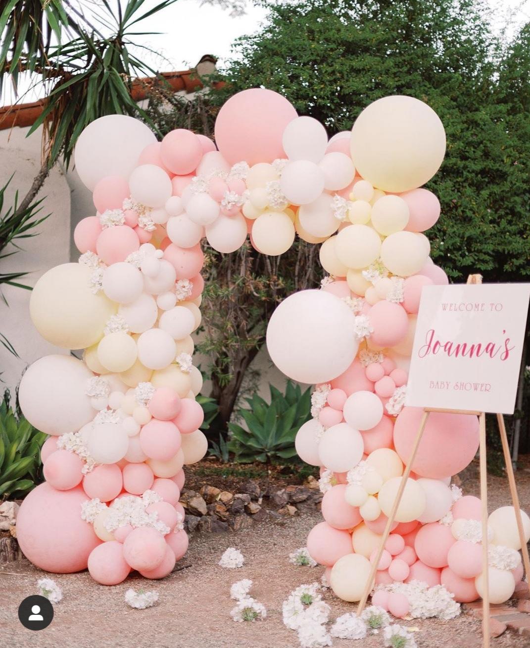 balony na Baby Shower - baby shower Joanny Krupy