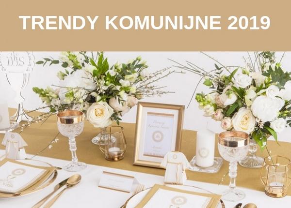 trendy komunijne 2019
