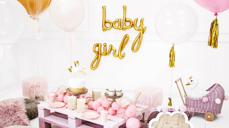 balony na baby shower