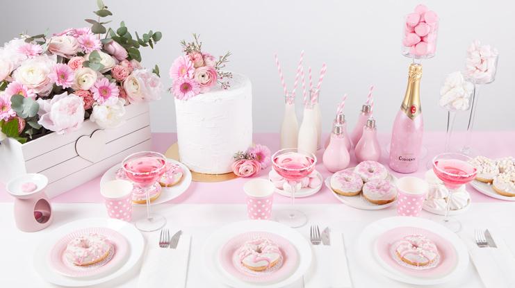 dekoracje na 18 dziewczyny różowe