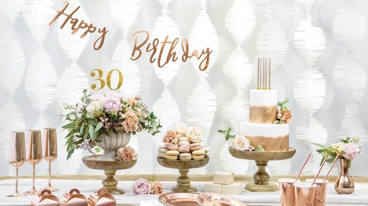 banery i girlandy urodzinowe