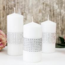 TAŚMA dekoracyjna diamenty 3cmx2,3m KONIEC SERII