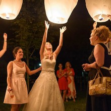LAMPIONY spełnionych życzeń MIX KOLORÓW 10szt