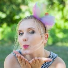 OPASKA z tiulem kolorową z wisienką Candy Girl