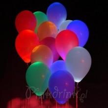 BALONY ledowe świecące / zmieniające kolory 4szt