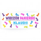 BANER personalizowany Crazy Willy MEGA 42x100cm