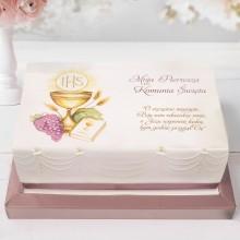 OPŁATEK uniwersalny na tort Złoty Kielich 21x30cm (24)