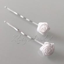 WSUWKI białe z Różyczkami 2szt