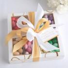 MIGDAŁY lukier+czekolada Kolorowe w opakowaniu PREZENT