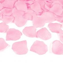 PŁATKI róż dekoracyjne 100szt JASNORÓŻOWE
