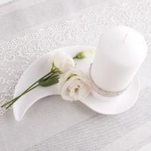 PODSTAWKA ceramiczna do świec i kwiatów Łezka