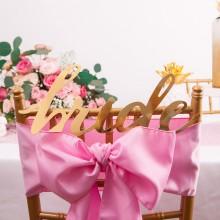ZAWIESZKA na krzesło Bride ZŁOTA
