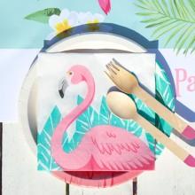 SERWETKI papierowe Flamingo Hawajskie Party 33x33cm 20szt