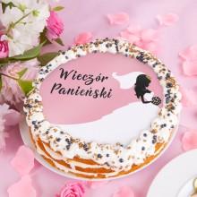 OPŁATEK uniwersalny na tort Bride Ø20cm (37)