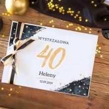 KSIĘGA PAMIĄTKOWA na 40 urodziny Z IMIENIEM