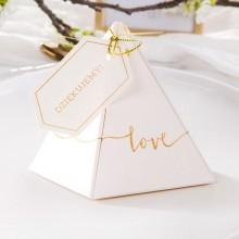 PUDEŁECZKA prezenciki dla dziewczyn piramidki Love 10szt