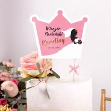 TOPPER na tort personalizowany Bride + IMIĘ