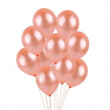 BALONY metaliczne STRONG 23cm 20szt ROSEGOLD