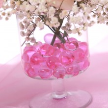 HYDROŻEL do kwiatów Perły Wodne RÓŻOWY