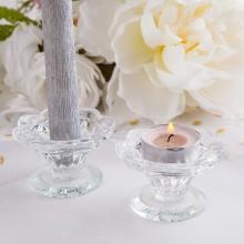 ŚWIECZNIK na tealight i prostą świecę 2w1 Ozdobny OSTATNIA SZTUKA
