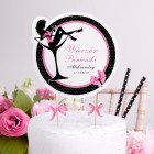 TOPPER na tort personalizowany Queen of the Night + IMIĘ