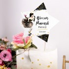 TOPPER na tort personalizowany + IMIĘ Pink Drink