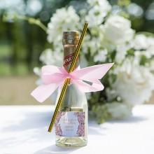 WINO MUSUJĄCE bezalkoholowe 200ml Z IMIONAMI Różowe Kwiaty