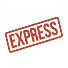 EXPRESS: przyspieszenie WYKONANIA zamówienia personalizowanego do 3 dni roboczych Ekspres