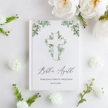 BIBLIA Pamiątka Chrztu Świętego Z IMIENIEM Delikatne Kwiaty DUŻA