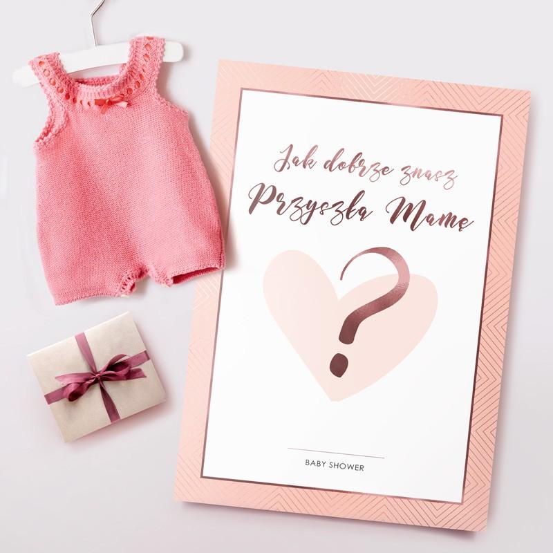 kto najlepiej zna przyszłą mamę na baby shower