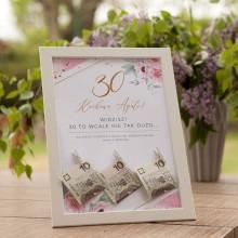 PREZENT na 30 urodziny w ramie Zapach Piwonii